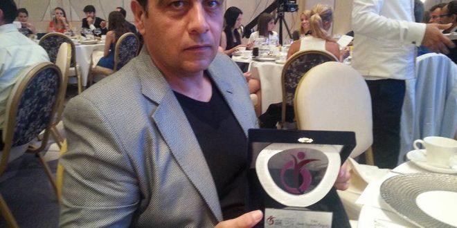 Vala Gedik II. Spor Ödüllerinde ZİÇEV'de Ödül Aldı