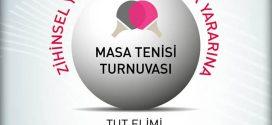 Masa tenisi sevenler, siz de katılın! ZİÇEV yararına düzenlenen 7. Kurum ve Kuruluşlararası Yardım Amaçlı Açık Masa Tenisi Takım Turnuvasına desteğinizi bekliyoruz!