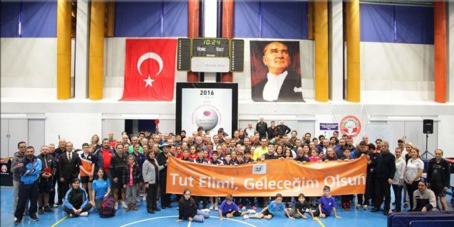 ZİÇEV yararına düzenlenen 7. Kuruluşlararası Açık Masa Tenisi Turnuvası 17 Aralık 2016 tarihinde gerçekleşti