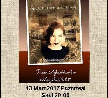 Pınar Ayhan, İstanbul'da 13 Mart 2017'de muhteşem gösterisini Vakfımız yararına sunacak