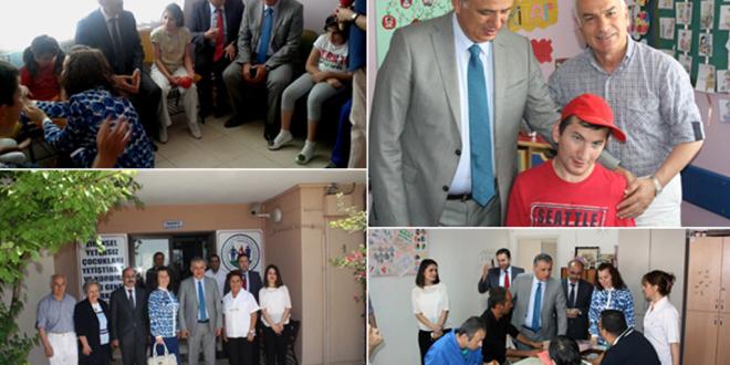 19 Haziran 2014 : Gölbaşı Kaymakamı ve Beraberindeki Heyet Vakfımızı Ziyaret Ettiler.