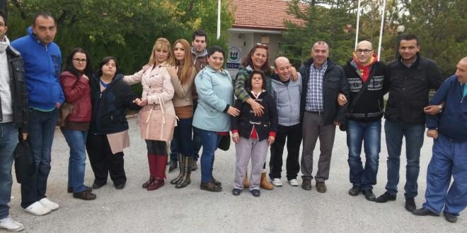 31 Ekim 2015 : UPS Ankara çalışanları bugün ZİÇEV Ankara'yı ziyaret etti