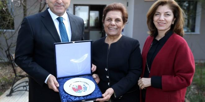 Dışişleri Bakanı Mevlüt Çavuşoğlu ZİÇEV'i ziyaret etti