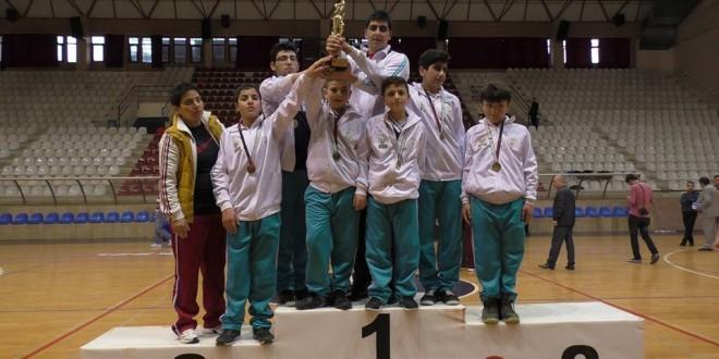 03 Şubat 2016 : ZİÇEV Ankara Sporcuları, İç Anadolu Bölgesi Basketbol Şampiyonu oldu
