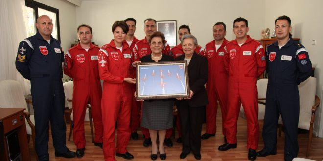 Türk Yıldızları, ZİÇEV Ankara'yı Ziyaret etti!