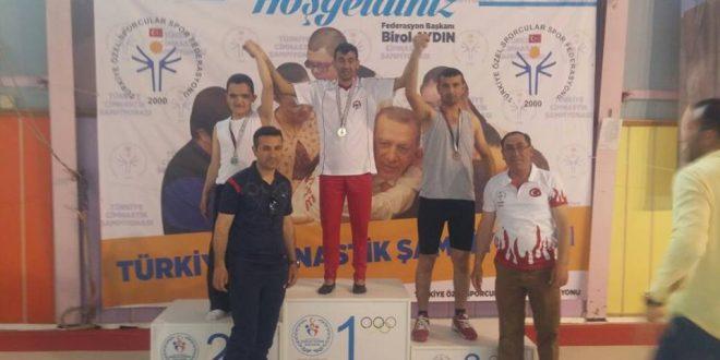 Elazığ Şubemizden Zülküf, Cimnastik Dalında Türkiye Şampiyonumuz!