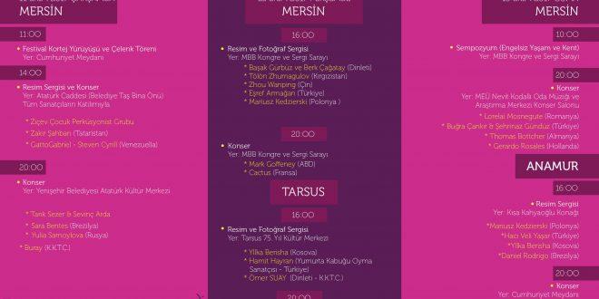 Mersin Şubemizin Ritim Grubumuz 11 Ekim 2017 Çarşamba günü ''Mersin Uluslararası Engelsiz Sanat Festivali''nde sahne alacak