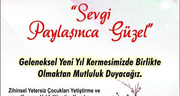 ZİÇEV İzmir Şubemizin 21 Aralık 2018 günü düzenleyeceği Geleneksel Yeni Yıl Kermesine tüm İzmir'lileri bekleriz!