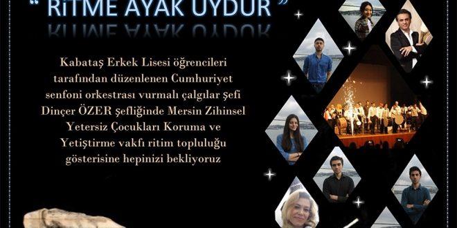 İstanbullu ZİÇEVseverler, Mersin Ritim Grubumuz 3 Aralık 2017 saat 19:00'da Ortaköy Feriye'de sahnede! Bekliyoruz!