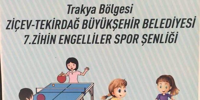 Sevgili Tekirdağlılar, hepinizi 15 Mayıs 2018 Salı günü saat 10:30'da 7. Zihin Engelliler Spor Şenliğimize bekleriz.
