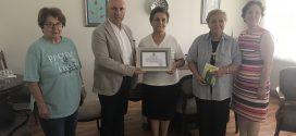 Çağdaş Marketler Zinciri Koordinatörü Yahya Kemal Bal ziyaretimize geldi