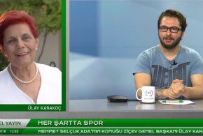 """Genel Başkanımız Ülay Karakoç Medyascope.tv """"Her Şartta Spor"""" programına konuk oldu"""