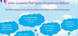 Sevgili Adanalılara, haberimiz var :) Erken Çocukluk Özel Eğitim Programımız başladı