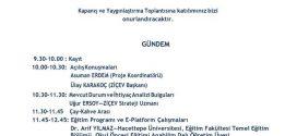 Erasmus+ KA2 – Öğretmenden Öğretmene Projemizin Kapanış ve Yaygınlaştırma Toplantısı 14 Ağustos 2018'de Samsun'da gerçekleşecek