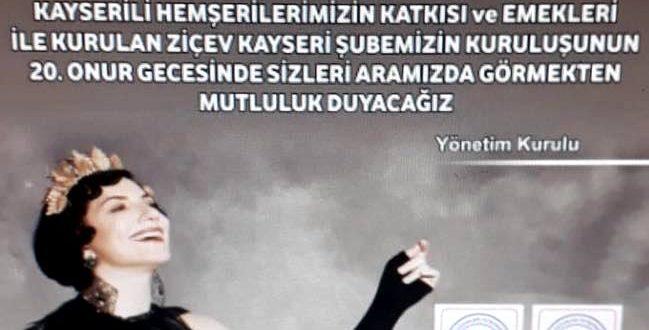 6 Kasım 2018: Sevgili Kayserililer, Pınar Ayhan'ın Zamansız Ezgileri'ni sakın kaçırmayın!