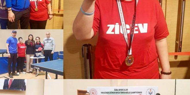 Özel Sporcular Yavuz Kocaömer Masa Tenisi 1. Bölge Şampiyonası sona erdi