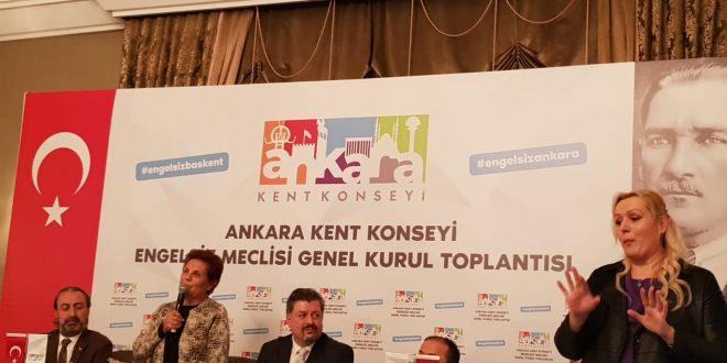 Ankara Engelliler Meclisi Toplandı