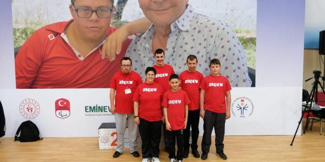 ZİÇEV Özel Sporcuları Türkiye Şampiyonasına Katılmaya Hak Kazandı