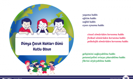 20 Kasım Dünya Çocuk Hakları Günü Kutlu Olsun